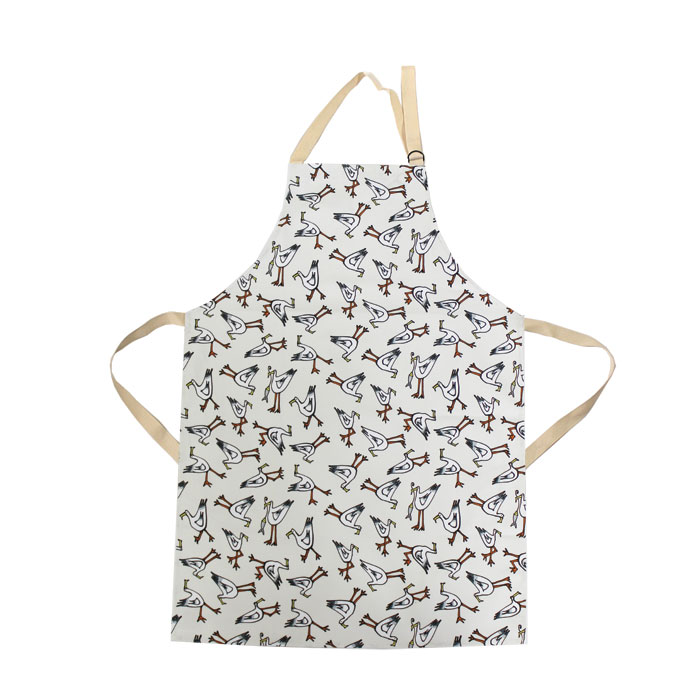 Gallery Thea Apron Seagull Ivory Sparkle Gift