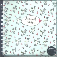 Gallery Thea Address & Birthday Book Sparkle Gift