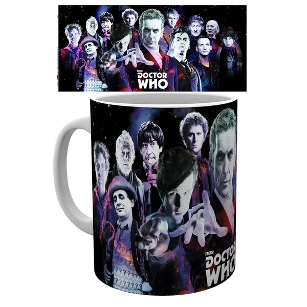 Doctor Who Boxed Mug Cosmos Sparkle Gift