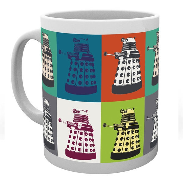 Doctor Who Boxed Mug Pop Art Sparkle Gift
