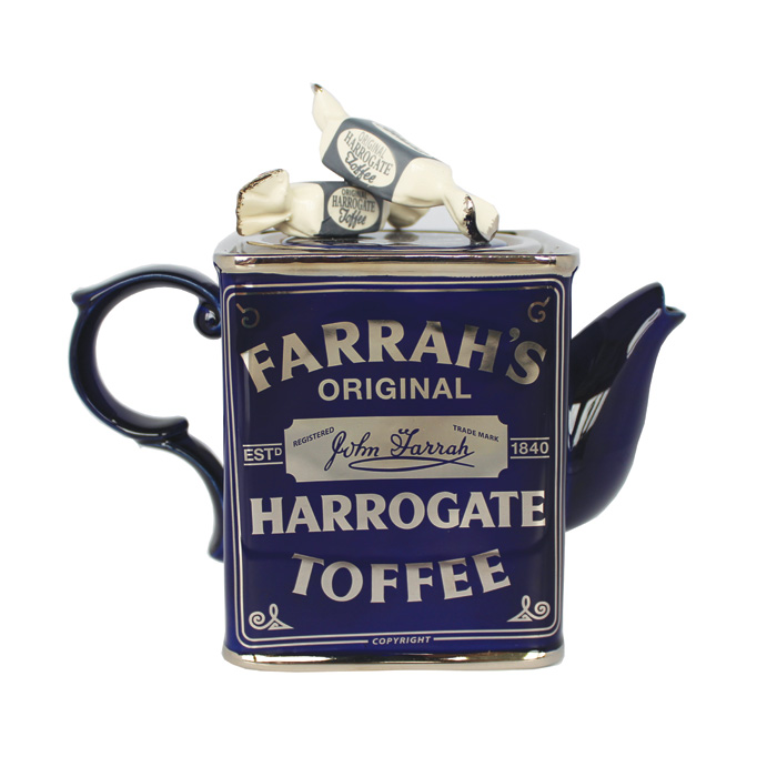 Teapot Farrah Toffee Medium Sparkle Gift