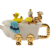 Teapot Bath Large Sparkle Gift