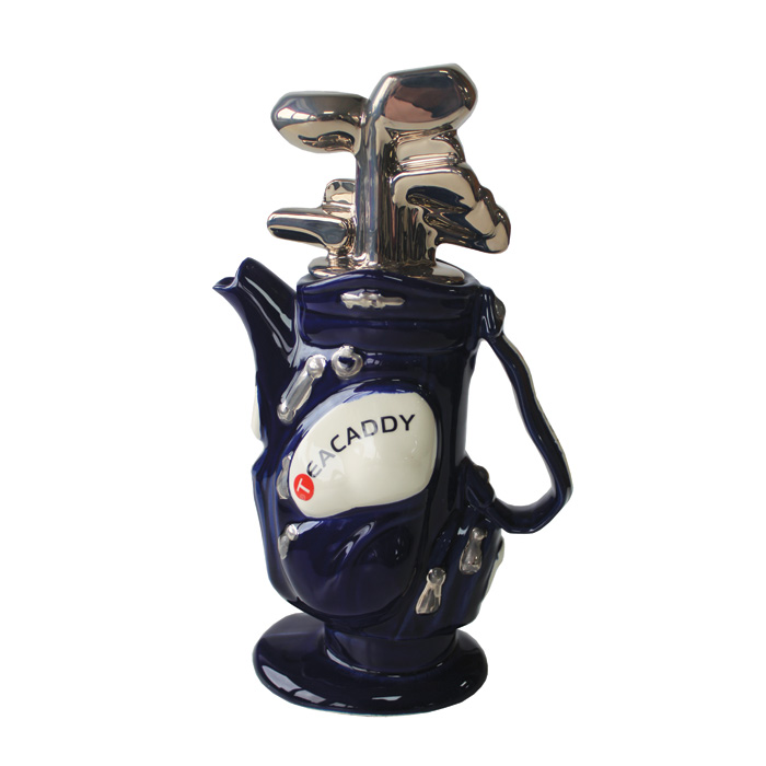Teapot Golf Bag Blue Medium Sparkle Gift