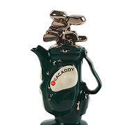 Teapot Golf Bag Green Medium Sparkle Gift