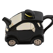 Teapot Smart Car Black Medium Sparkle Gift
