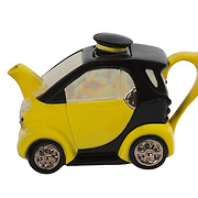 Teapot Smart Car Yellow Medium Sparkle Gift