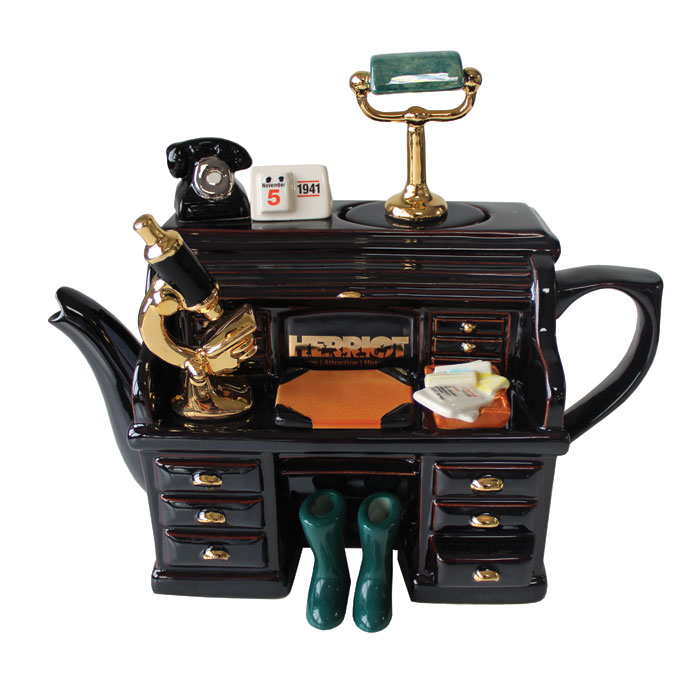 Teapot Herriot Desk Sparkle Gift