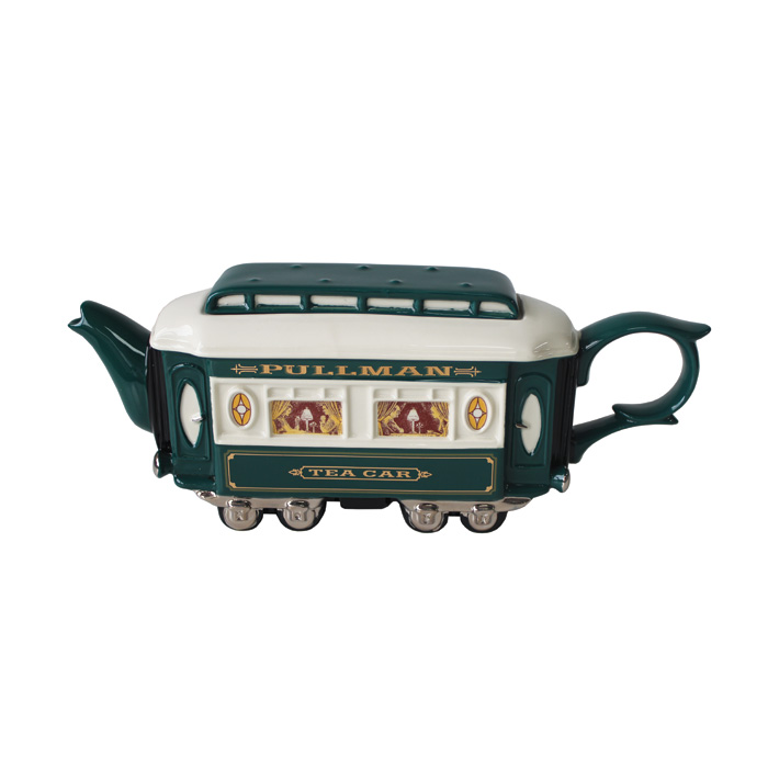 Teapot Pullman Green Limited Edition Sparkle Gift