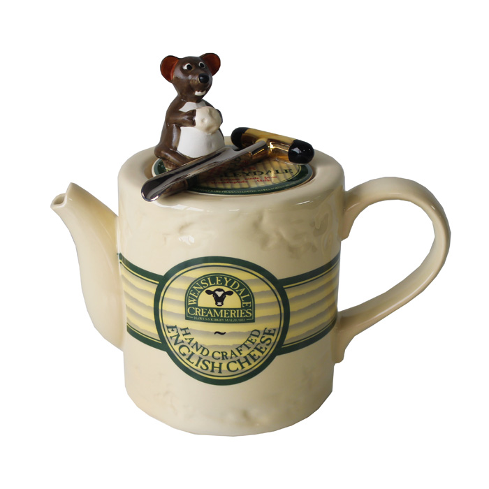 Teapot Wensleydale Cheese Limited Edition Sparkle Gift