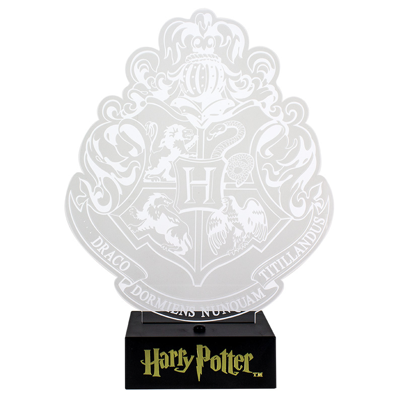 Harry Potter Light Hogwarts Crest Sparkle Gift