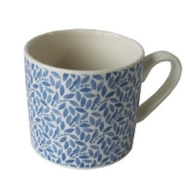 Songbird Blue Mug Repeat Pattern Single                      Sparkle Gift