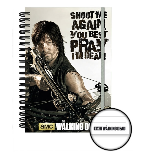 Walking Dead A5 Notebook Crossbow Sheet Music
