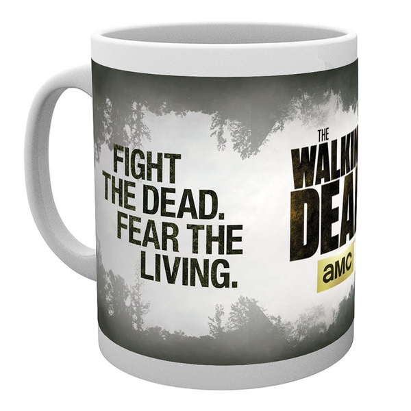 Walking Dead Boxed Mug Fight The Dead Sparkle Gift