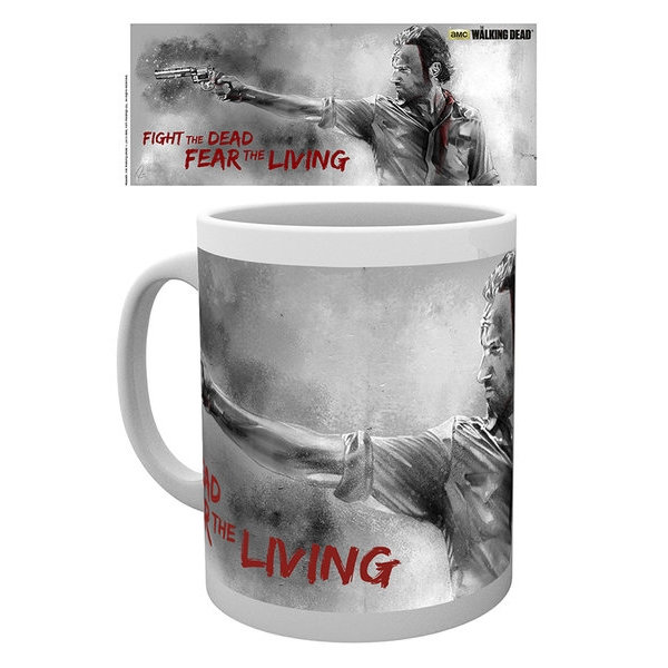 Walking Dead Boxed Mug Rick Sparkle Gift