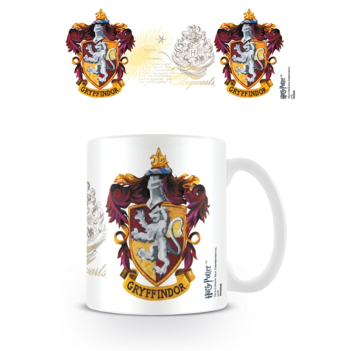 Harry Potter Boxed Mug Gryffindor Crest Sparkle Gift