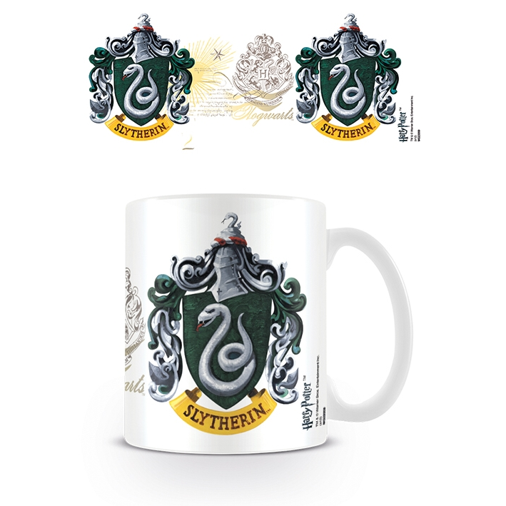 Harry Potter Boxed Mug Slytherin Crest Sparkle Gift