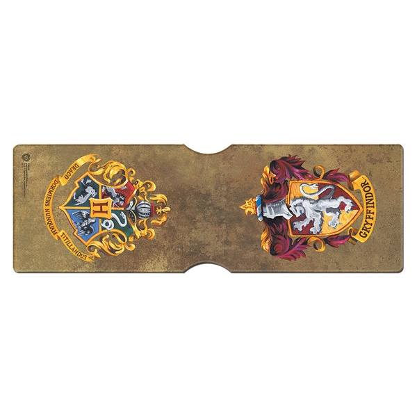 Harry Potter Card Holder Gryffindor Crest Sparkle Gift