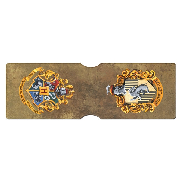 Harry Potter Card Holder Hufflepuff Crest Sparkle Gift