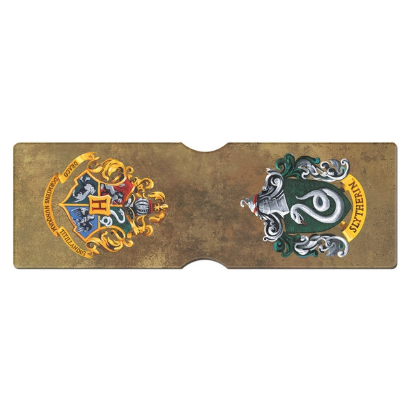 Harry Potter Card Holder Slytherin Crest Sparkle Gift