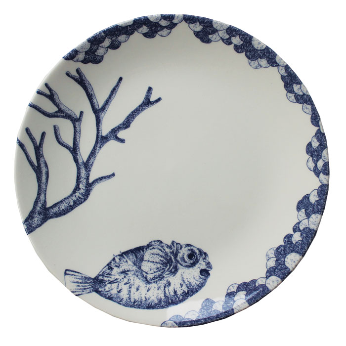Royal Stafford Ocean Blue Side Plate 23cm 6 Pack Sparkle Gift