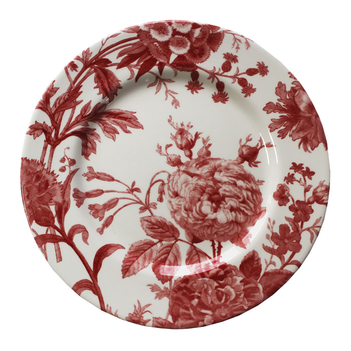 Royal Stafford Floral Weave Dinner Plate Red 6pk Sparkle Gift