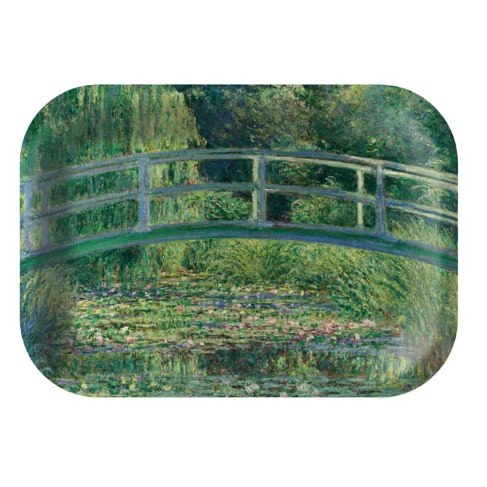 National Gallery Tray Monet The Water-lily Sparkle Gift