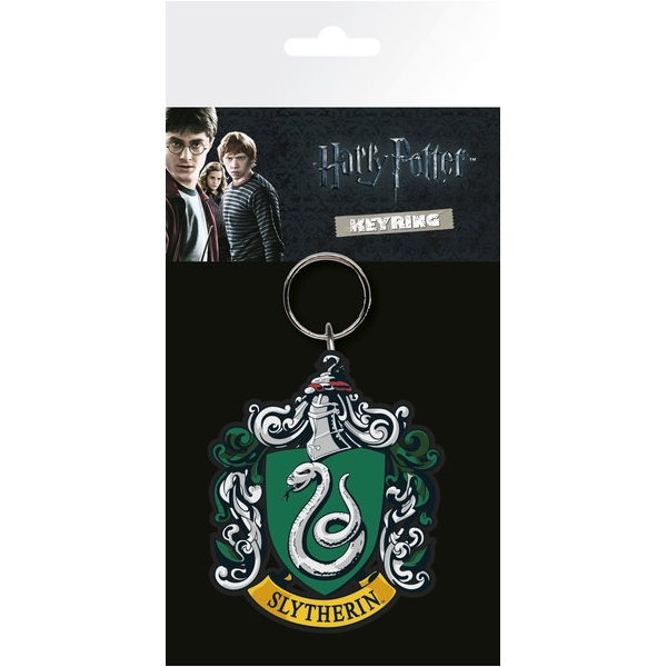 Harry Potter Keyring Slytherin Crest Sparkle Gift