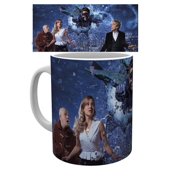 Doctor Who Boxed Mug The Return of Doctor Mysterio Sparkle Gift
