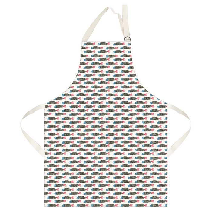Paper Fish Apron Hinchcliffe and Barber                      Sparkle Gift