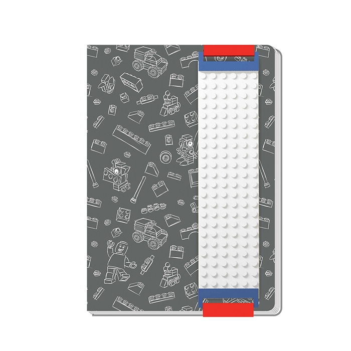 Lego A5 Building Band Journal Grey Sheet Music
