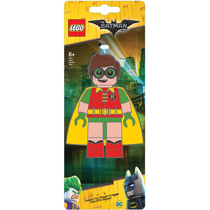 Lego Batman Luggage Tag Robin Sparkle Gift