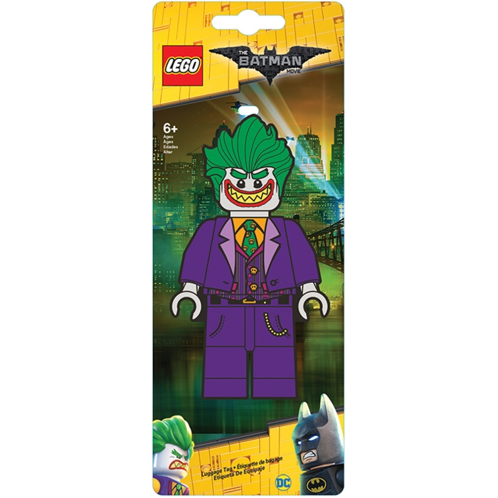 Lego Batman Luggage Tag Joker Sparkle Gift