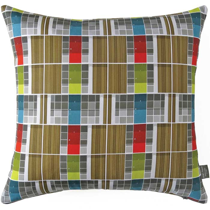 Oscar Francis Cushion Cover Willow Road Doors                Sparkle Gift