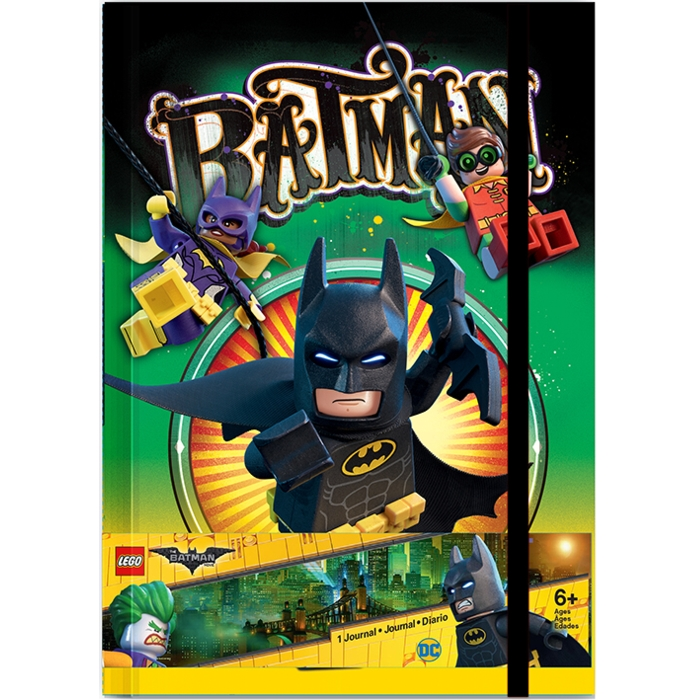 Lego Batman A5 Journal Batman Sparkle Gift