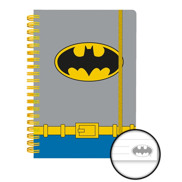 Batman A5 Notebook Costume Sparkle Gift