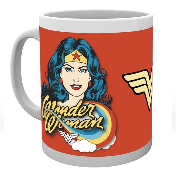 Wonder Woman Boxed Mug Face Sparkle Gift