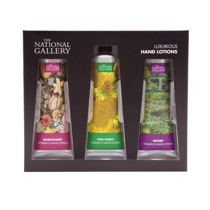 National Gallery 3 Piece Hand Cream Set X6 Sparkle Gift