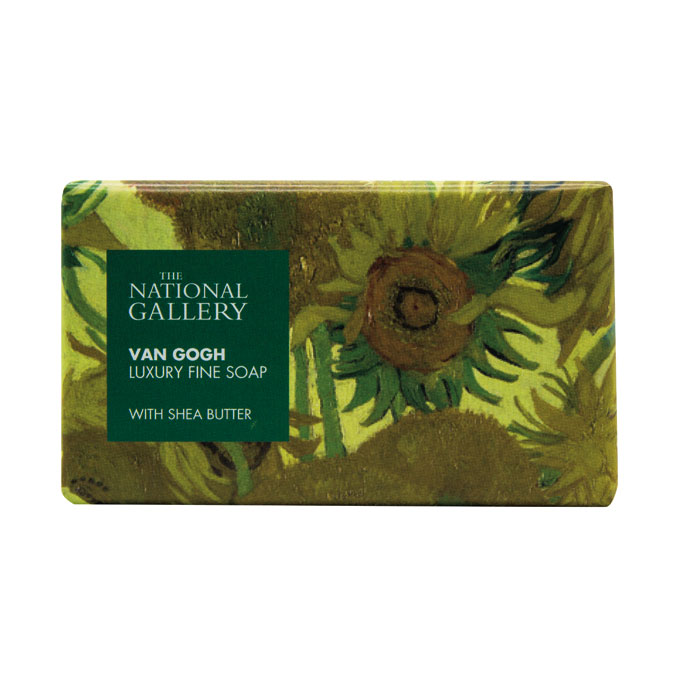 National Gallery Individual Soap Van Gogh X8 Sparkle Gift