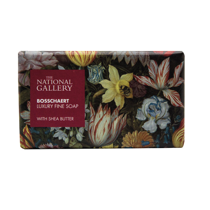 National Gallery Individual Soap Bosschaert X8 Sparkle Gift