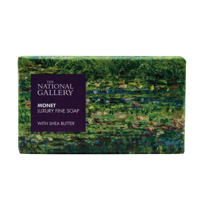 National Gallery Individual Soap Monet X8 Sparkle Gift