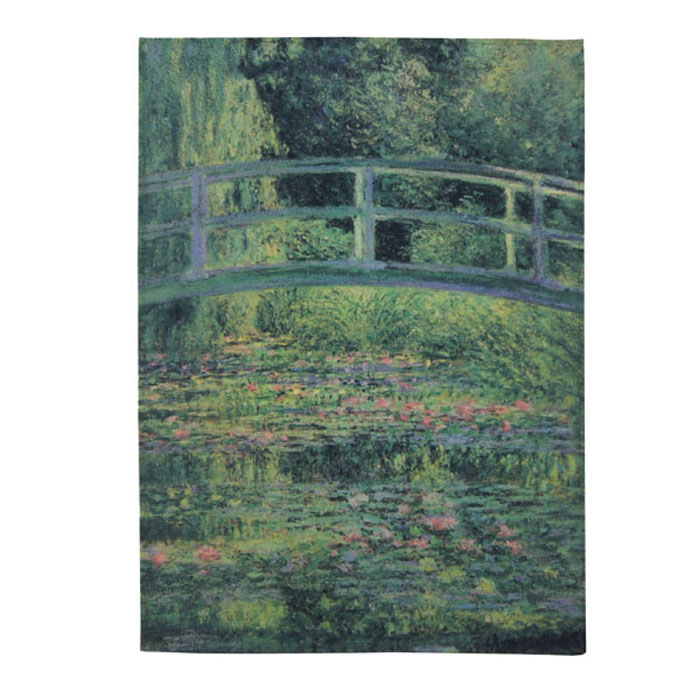 National Gallery Tea Towel Monet Water-lily X5 Sparkle Gift