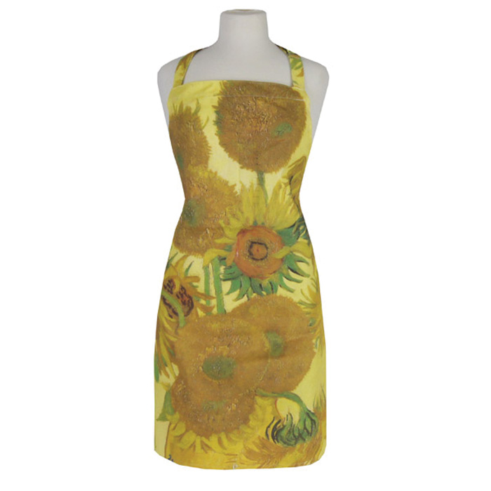 National Gallery Apron Van Gogh Sunflowers X2 Sparkle Gift
