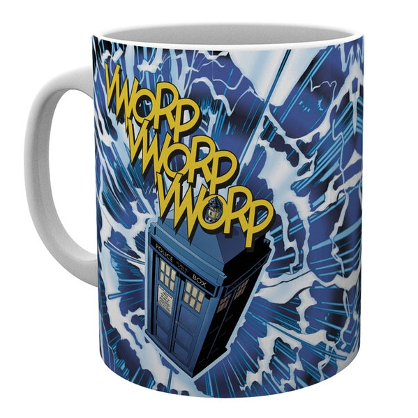 Doctor Who Boxed Mug Vworp Sparkle Gift