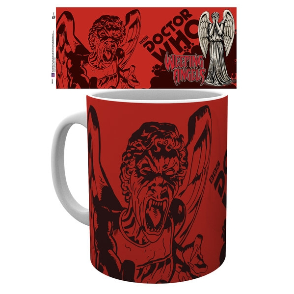 Doctor Who Boxed Mug Weeping Angels Sparkle Gift