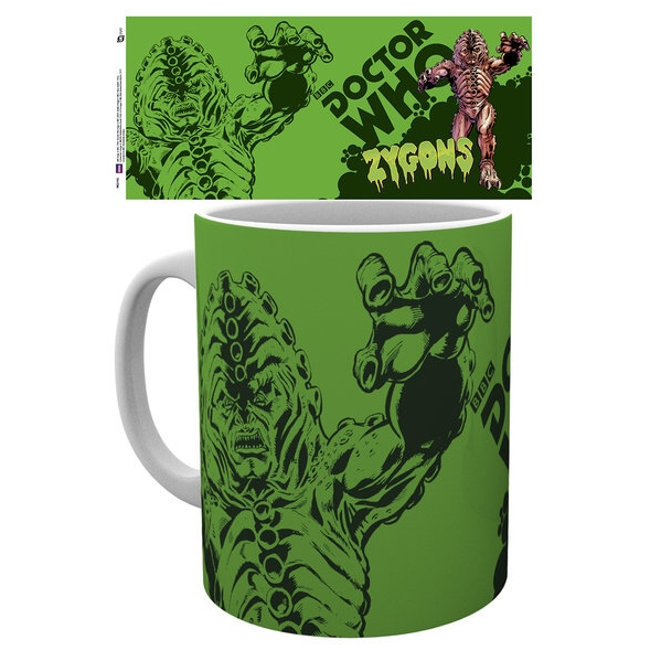 Doctor Who Boxed Mug Zygons Sparkle Gift