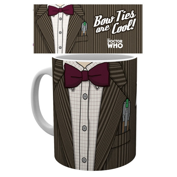 Doctor Who Boxed Mug 11th Doctor Costume Sparkle Gift