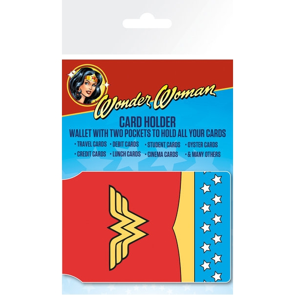 Wonder Woman Card Holder Costume Sparkle Gift