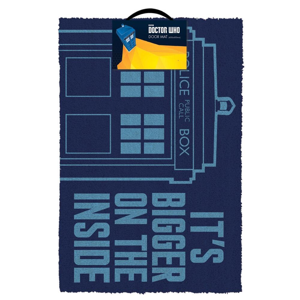 Doctor Who Doormat Tardis Sparkle Gift