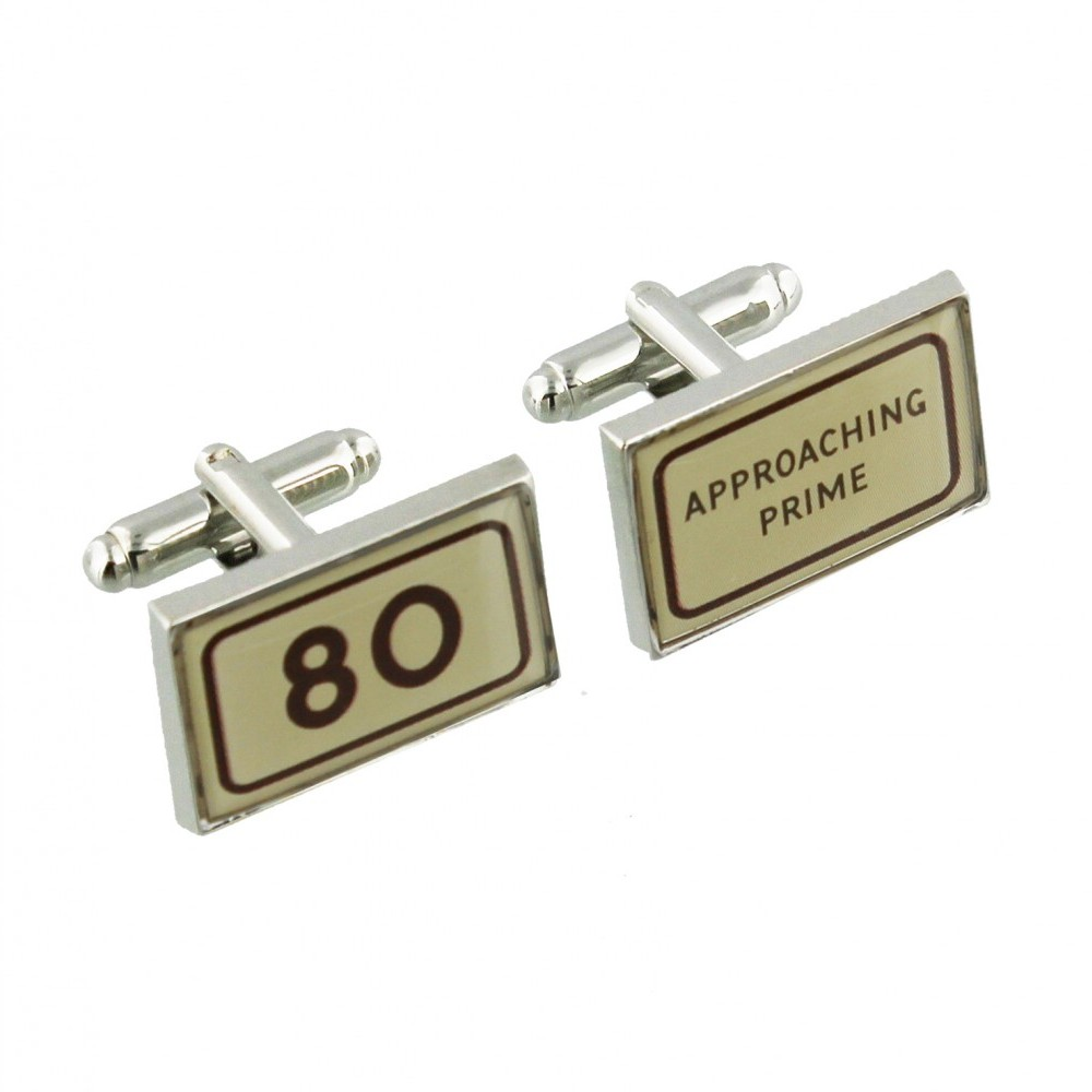 Mph Cufflinks 80 Approaching Prime Sparkle Gift