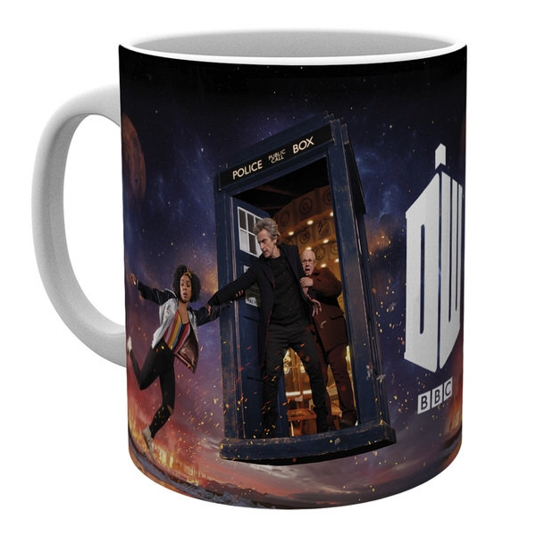 Doctor Who Boxed Mug Series 10 Iconic Sparkle Gift